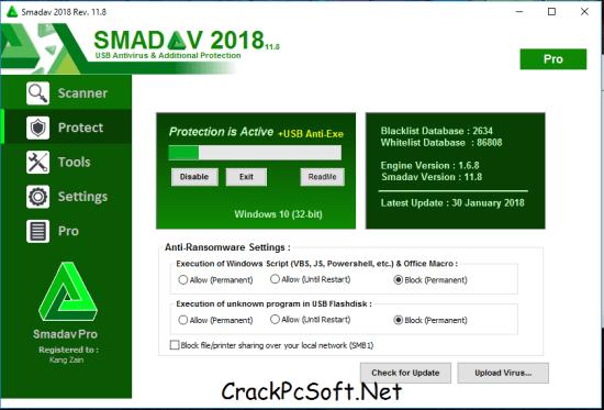 Smadav Antivirus 2018 Crack