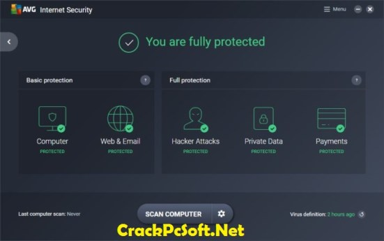 AVG Internet Security 2018 Serial Key