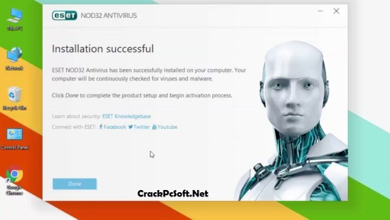 ESET NOD32 Antivirus 11 Username & Password