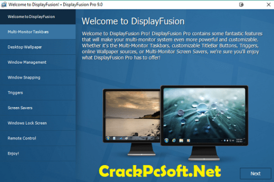 DisplayFusion Pro Key With Crack Full Free Download