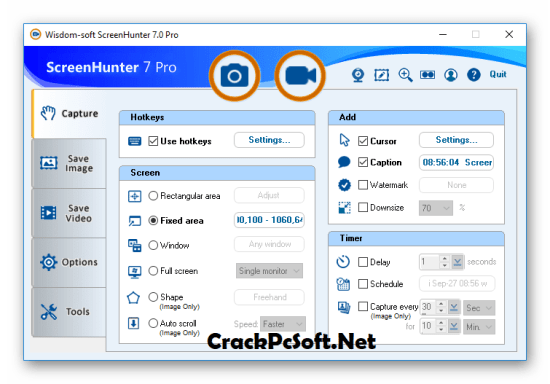 ScreenHunter Pro 7 Crack