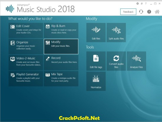 Ashampoo Music Studio 2018 Serial Key