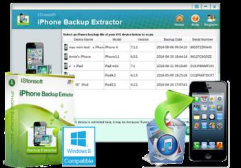 iPhone Backup Extractor 7.6.2 Crack