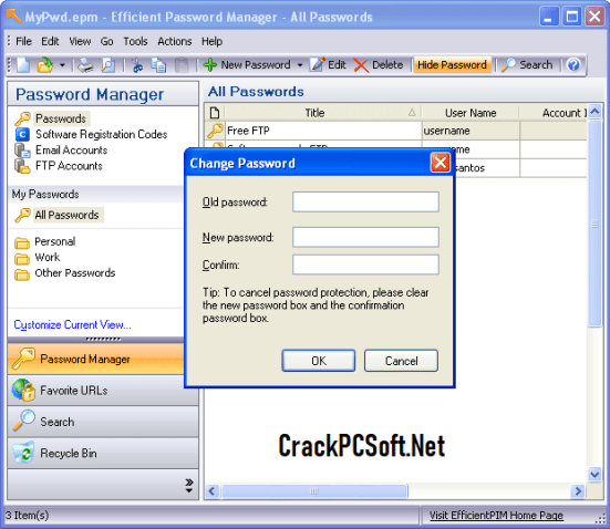 Efficient Password Manager Pro Serial Key
