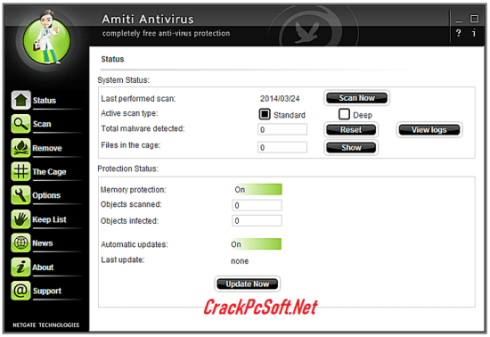 Netgate Amiti Antivirus License Key