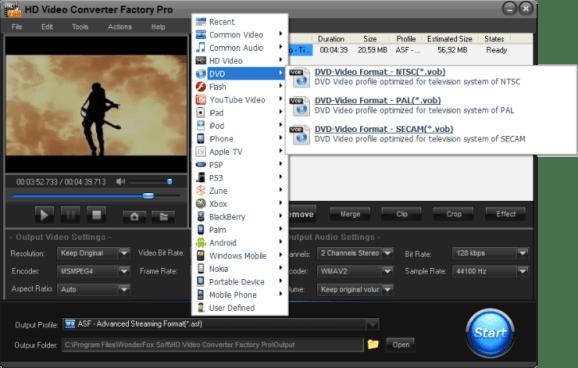 HD Video Converter Factory Pro Crack