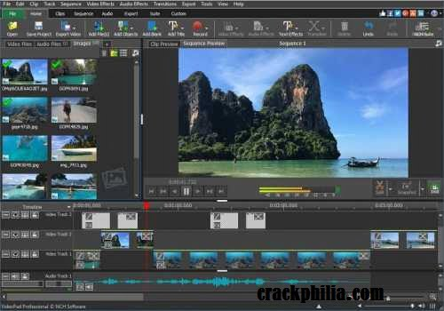 VideoPad Video Editor 8.32 Crack Plus Serial Key Download