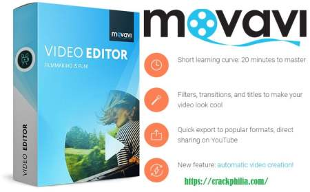 Movavi Video Editor 21.0.1 Crack + Activation Key Download 2021