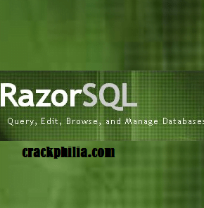 RazorSQL Crack 9.1.5 Plus Registration Code Free Download