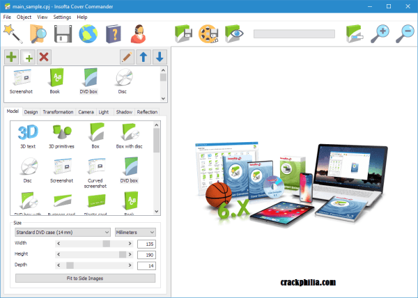Insofta Cover Commander Crack 6.6.0 Plus Serial Number Download