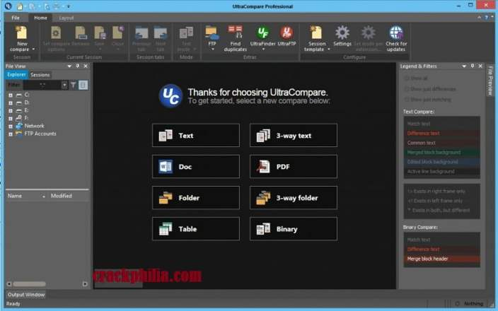 IDM UltraCompare Professional 20 Crack + Keygen Free Download