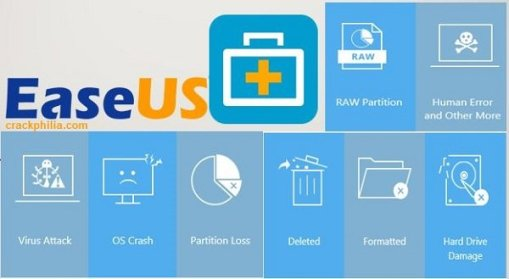 EaseUS Data Recovery Wizard 14.2.0 Crack + Activation Key Free Download