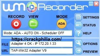 WM Recorder 16.8.1 Crack With Registration Code Free Download