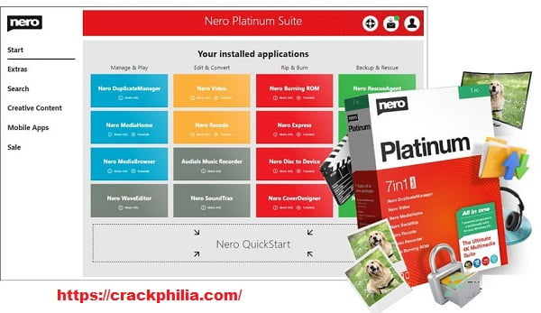 Nero Platinum 2021 Crack With Serial Number Download 2021
