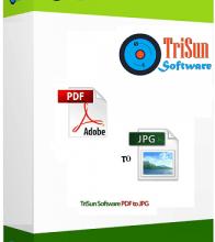 TriSun PDF To JPG Crack Free Download.