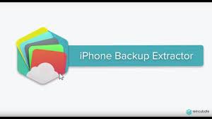 iPhone Backup Extractor 7.6.3.1347 Crack
