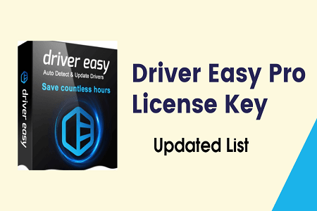 Driver Easy Pro 5.6.15.34863 Crack With License Key Full Patch 2021