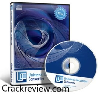 Universal Document Converter 6.9 Crack + Key Free Download