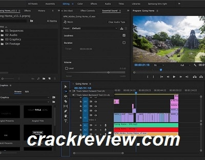 Adobe Premiere Pro CC 2018 Crack Download Full Version