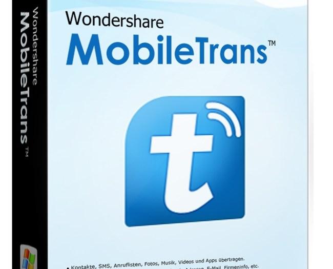 Wondershare MobileTrans 1.0.5 Crack With Activation Key 2021 Download