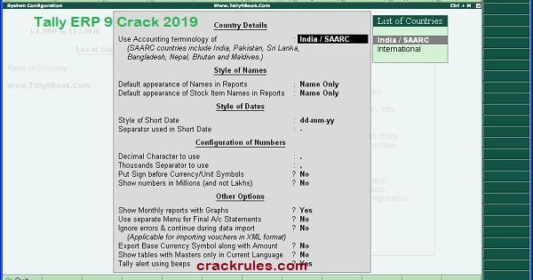 tally erp 9 crakced 2020