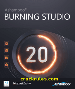 Ashampoo Burning Studio 21.6.1.63 Crack & Key 2021