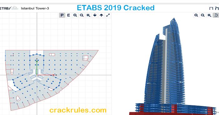ETABS 19.1.0 Crack with Keygen + Torrent {New} 2021