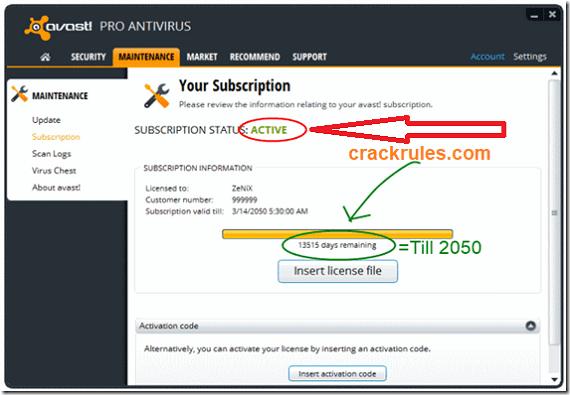 Avast Premier 21 1 2449 Crack License Key Lifetime New 2021