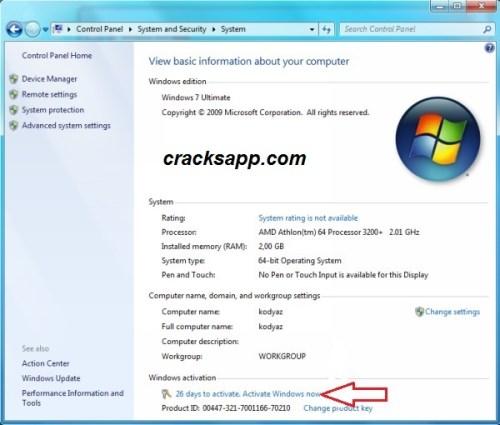 Windows 7 Home Premium Product Key Free Download