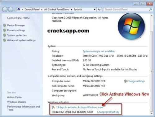Windows 7 Enterprise Activation Key Free Download