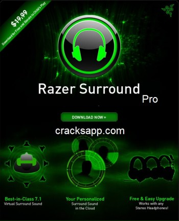 Razer Surround Pro Crack 2016 + Activation Code Free Download