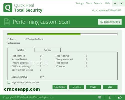 Quick Heal Total Security 2016 Serial Key Free Download