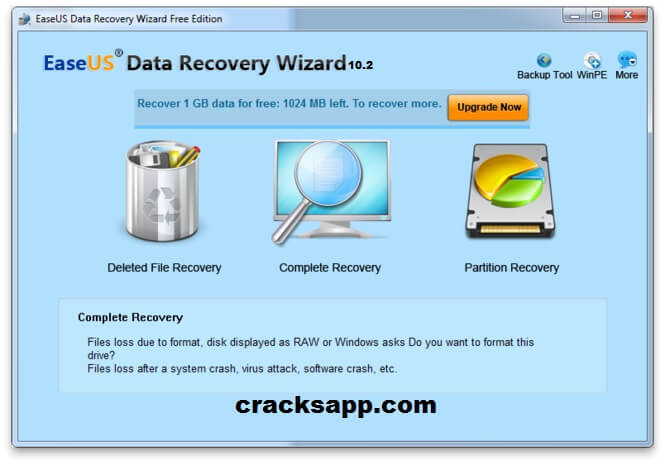 easeus data recovery wizard professional 5.6.1 crack