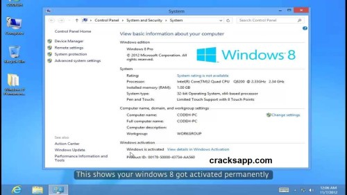 Windows 8 Permanent Activator Free Download