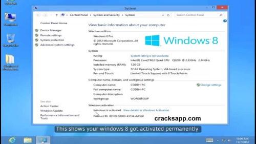 Windows 8 Permanent Activator Free Download