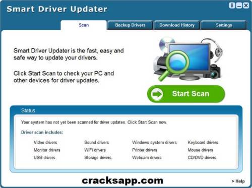 Smart Driver Updater 4.0.5 Licence Key + Crack Full Free