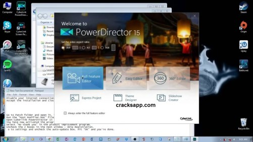 CyberLink PowerDirector 15 Ultimate Serial Key