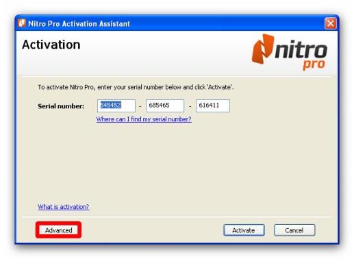 Nitro Pro 9 Serial Key