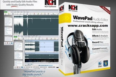 Wavepad Sound Editor Masters Edition 6.37 Crack Serial Key