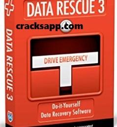 Data Rescue PC3 Crack Plus Serial Number Latest Version