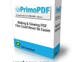 PrimoPDF v5.1.0.2 Crack Plus Serial Keygen Free Download