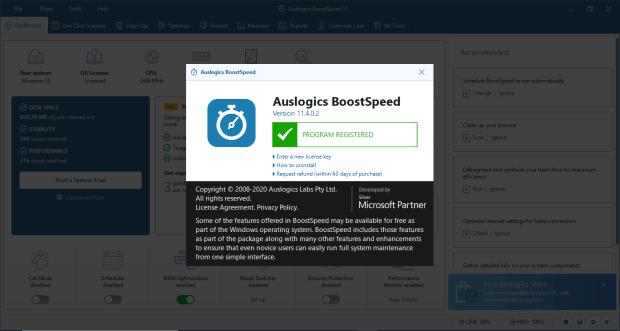 Auslogics BoostSpeed Pro Keygen with Crack