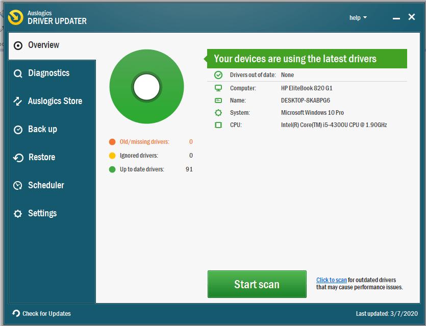 Auslogics Driver Updater Pro Full Version