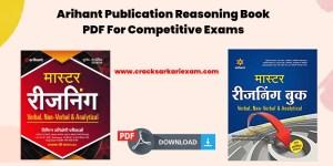 Arihant Publication Reasoning Book PDF