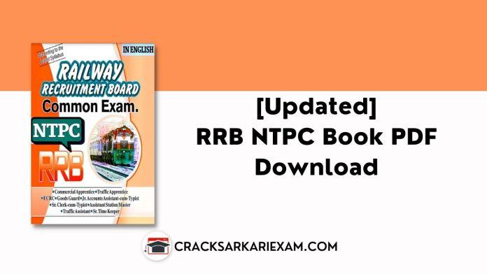 RRB NTPC Book PDF Download