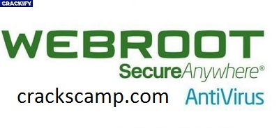 Webroot SecureAnywhere Antivirus 9.0.30.75 Crack + Full Version 2021 Download