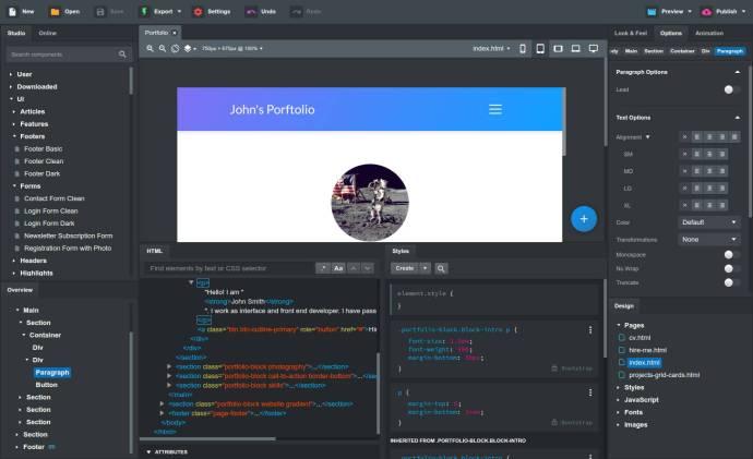 Bootstrap Studio v4.5.6 Crack + Professional License KEY {2020}