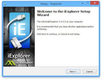 iExplorer 4.1.11 Crack