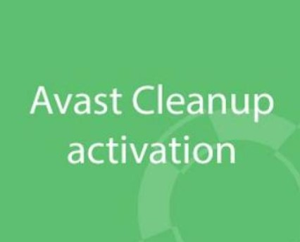 Avast Cleanup Activation Code 2018 Crack