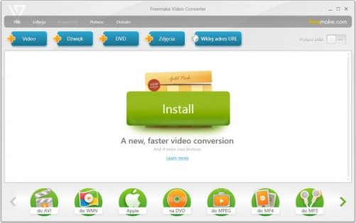 Freemake Video Converter 4.1.10.52 Crack